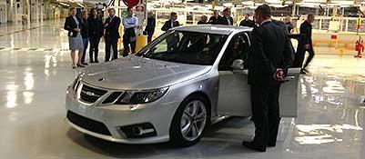 La Saab 9-3 uscita dalle linee di montaggio dopo un anno di fermo (Saab United)
