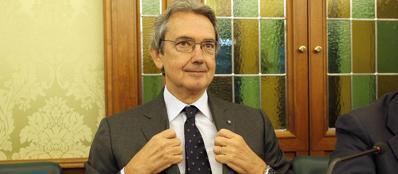 Il presidente di Telecom Italia, Franco Bernabé