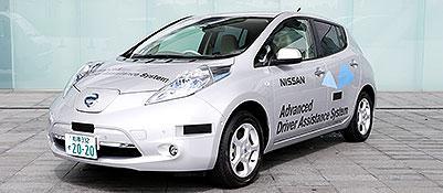 La Nissan a guida automatica
