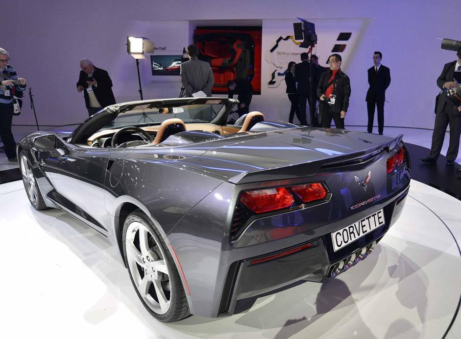 Corvette Stingray cabrio (Afp)