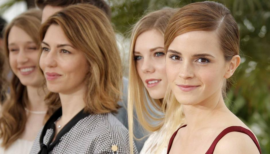 A cannes il film di Sofia Coppola «The Bling Ring». Nella foto la regista con le attrici Emma Watson e Claire Julien (Ap)