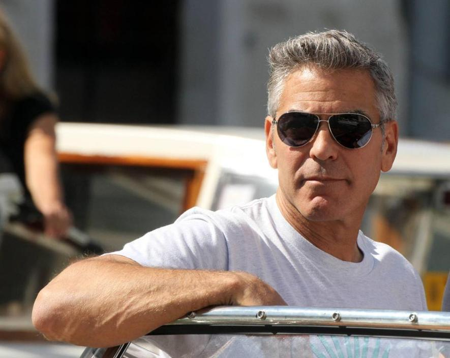 George Clooney arrives in Venice Venezia17_941-705_resize