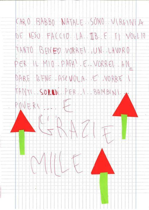 Virginia, 7 anni, Cologno Monzese (Mi)