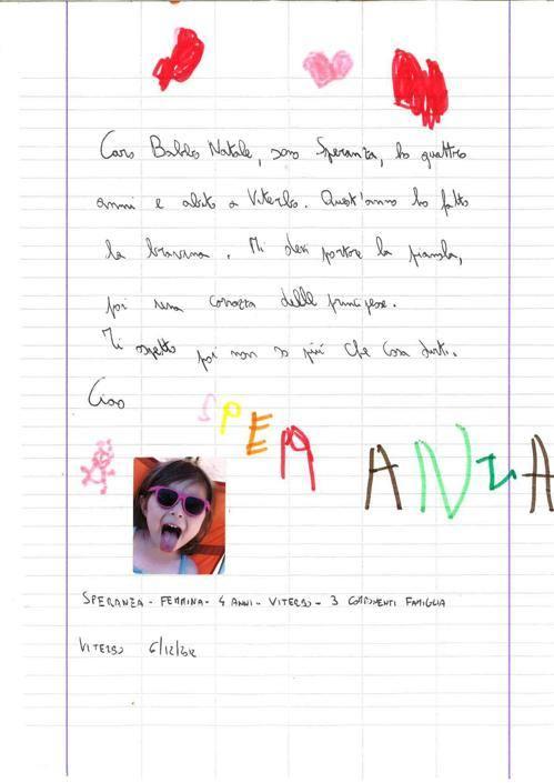 Speranza, 4 anni, Viterbo