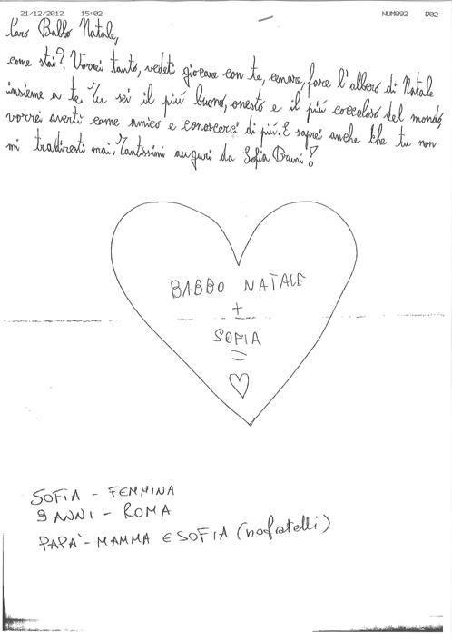 Sofia, 9 anni, Roma