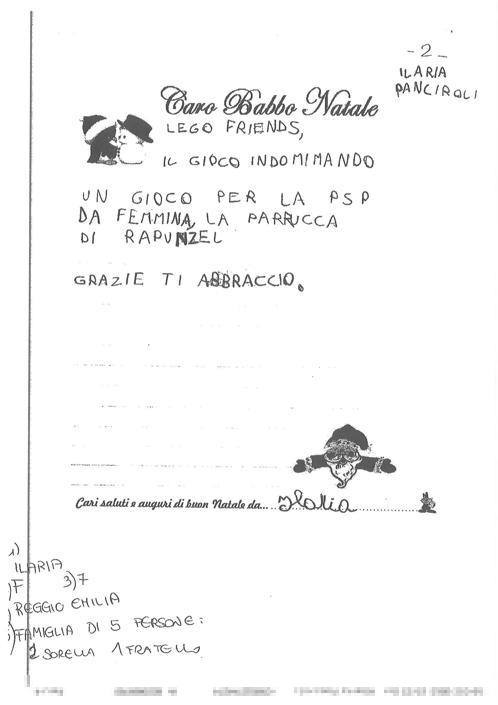 Ilaria, 7 anni, Gavassa