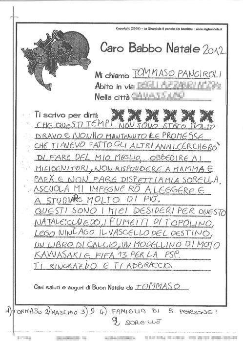 Tommaso, 9 anni, Gavassa (Re)