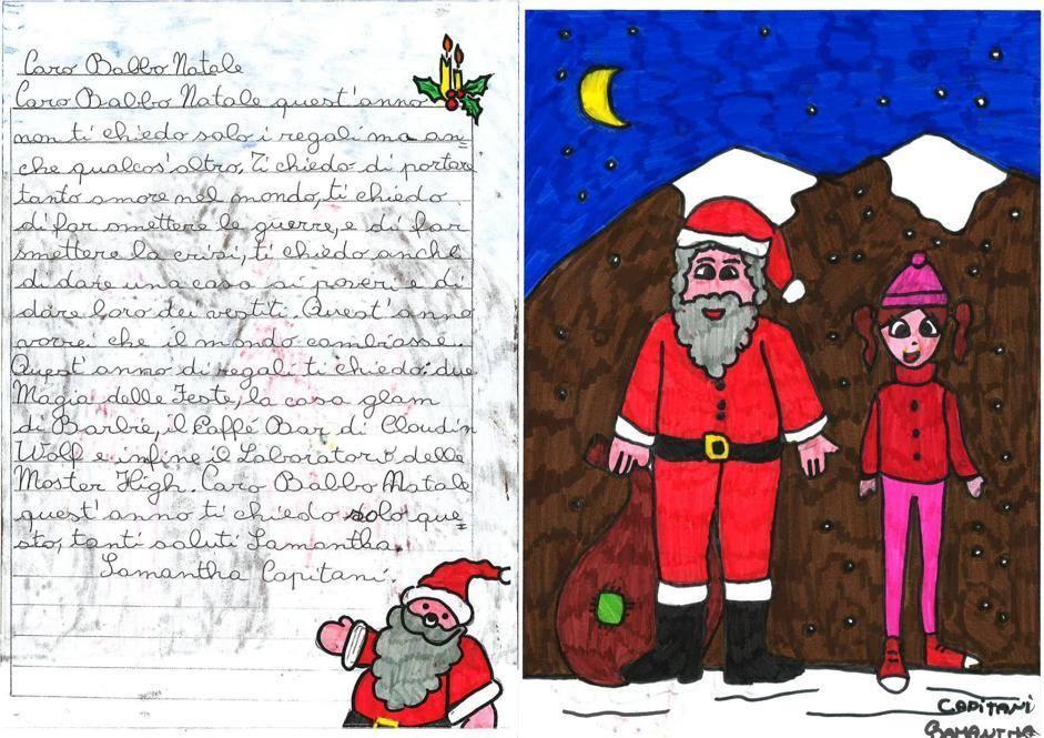 Samantha, 9 anni, Terranuova B.ni (AR)