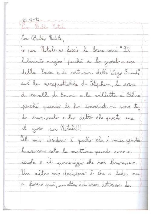 Federica, 9 anni, Castiglion Fiorentino (AR)