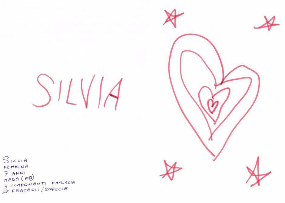 Silvia, 7 anni, Meda (MB)