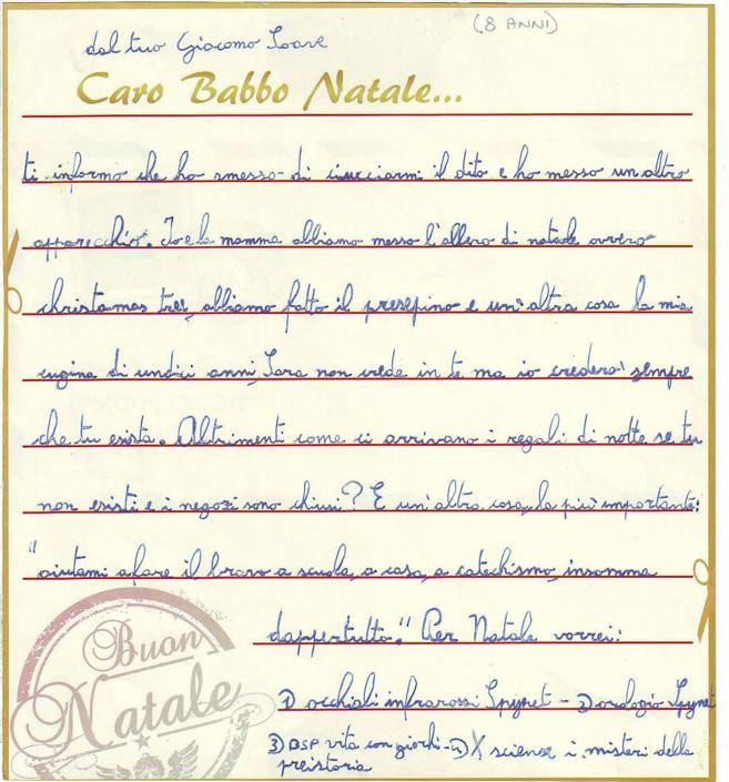 Giacomo, 8 anni, Sala Bolognese (BO)