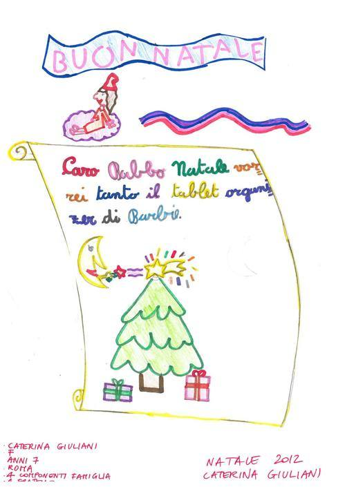 Caterina, 7 anni, Roma