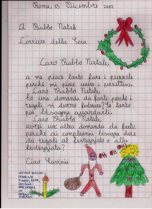 Lavinia, 7 anni, Roma
