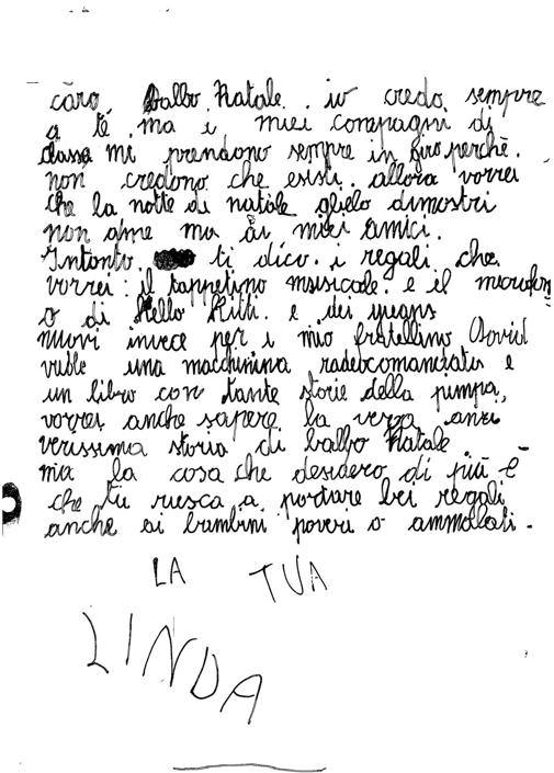 Linda, 7 anni, Brugherio (MB)
