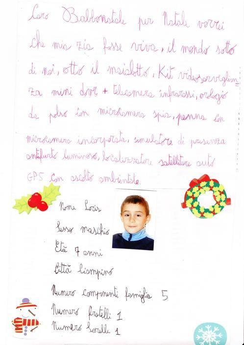 Loris, 7 anni, Ciampino