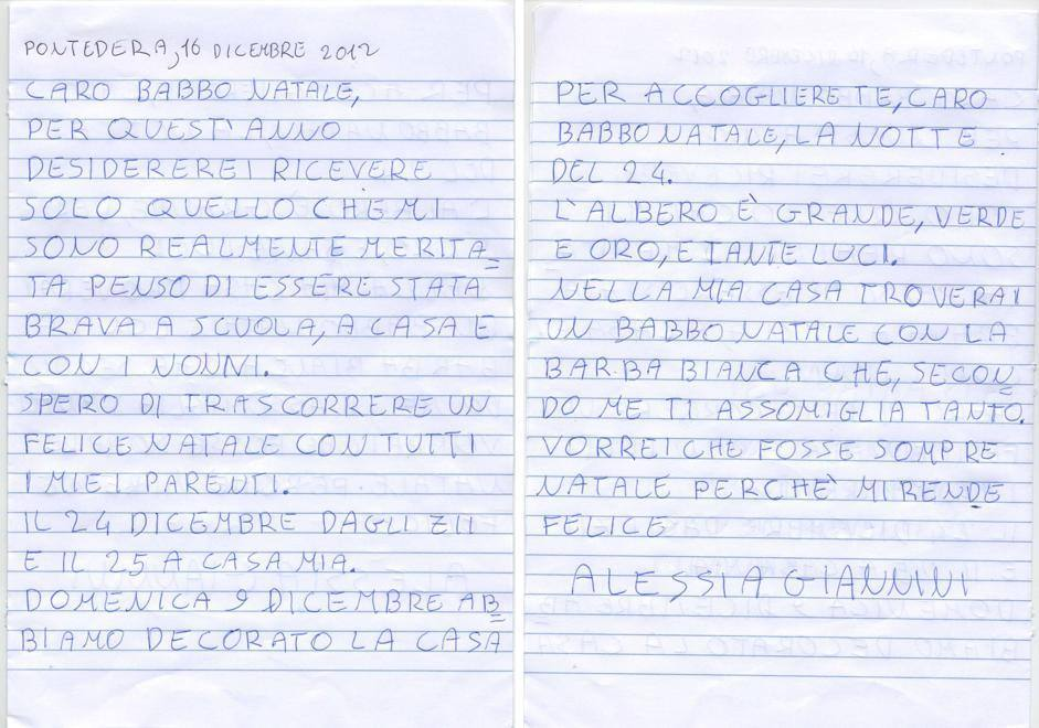 Alessia, 7 anni, Pontedera