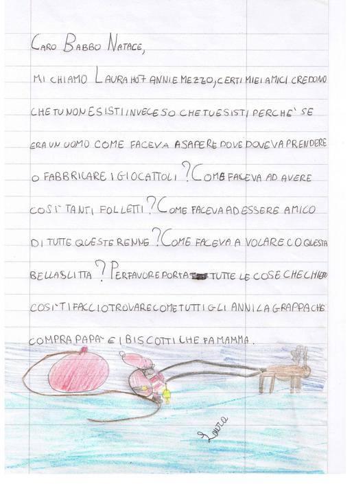 Laura, 7 anni e mezzo, Lanciano (CH)