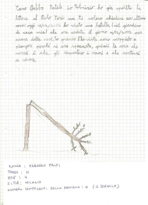Fabrizio, 7 anni, Milano