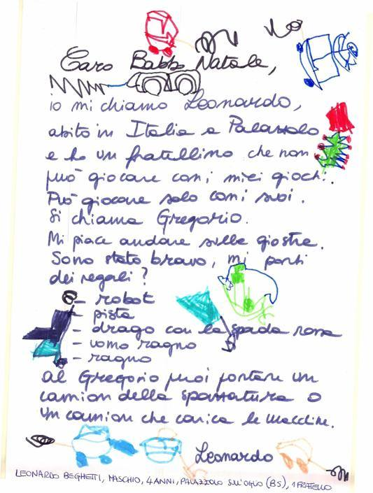 Leonardo, 4 anni, Palazzolo sull'Oglio (BS)