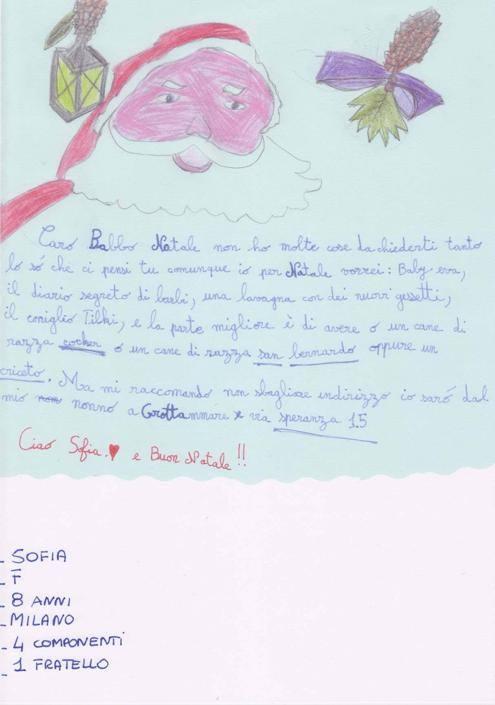 Sofia, 8 anni, Milano