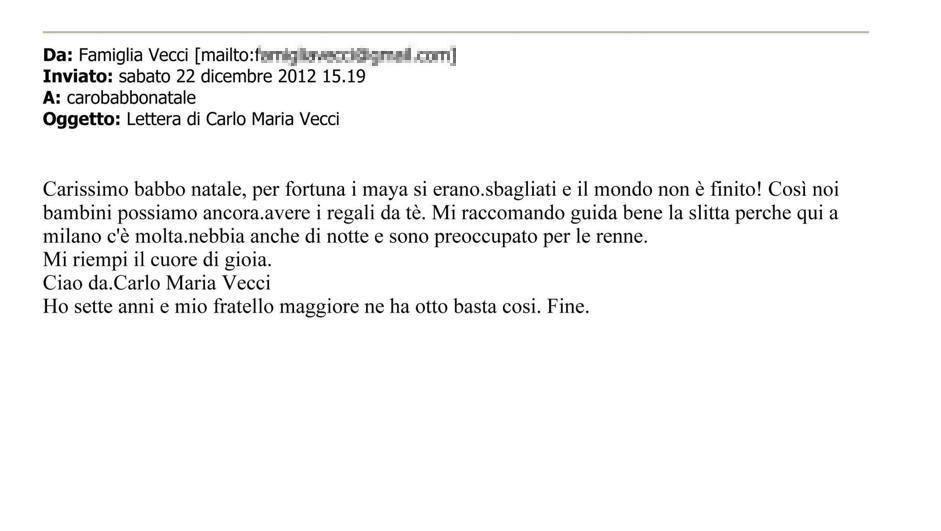 Carlo Maria, 7 anni