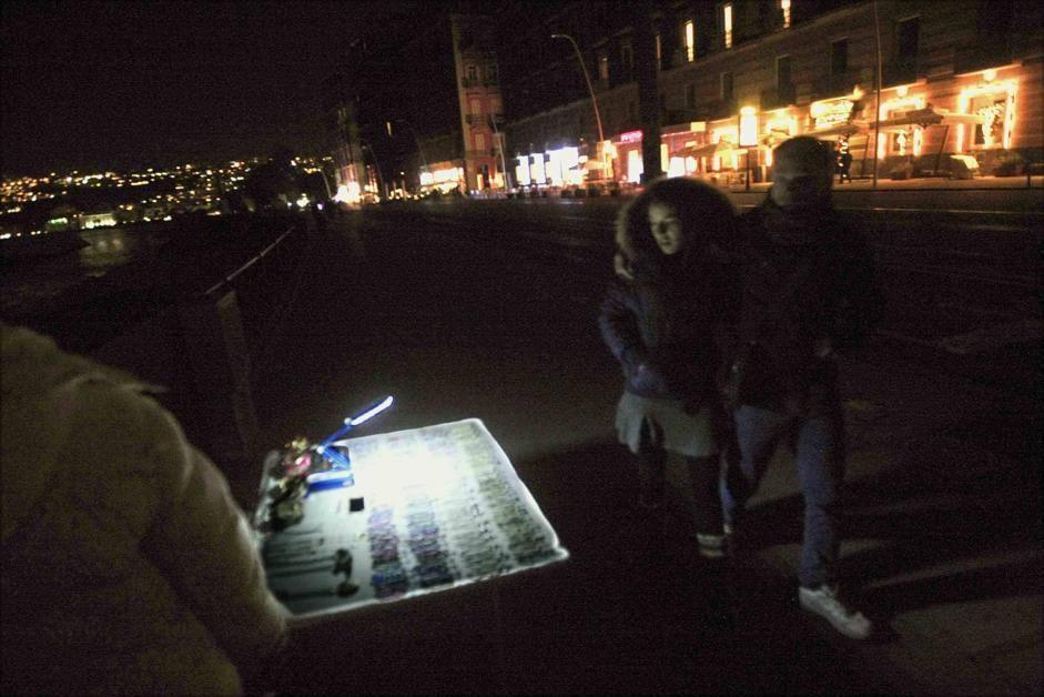 Blackout a Napoli