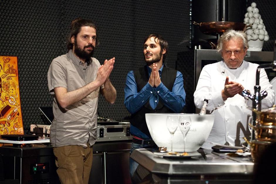 Gli ospiti della puntata del Mangiadischi con Spinelli (Carlo Fico/Images-it)