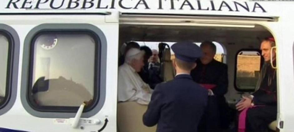 L Elicottero Del Papa : L addio del papa padre georg si commuove