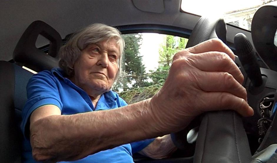 Alla guida a Trieste, nell'aprile 2012 (Ansa)