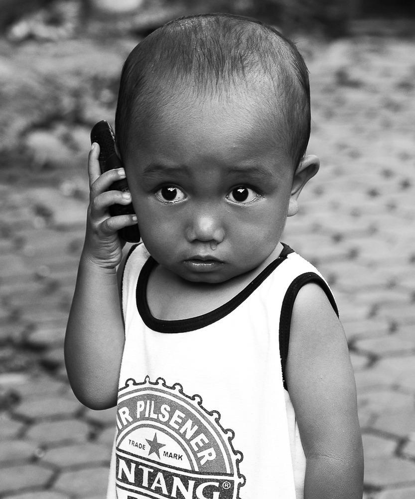 «Hello-pronto-hallo», Bali (Heinz Homatsch)