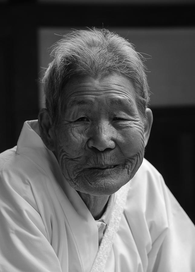 «Sorriso pietrificato», Giappone (Heinz Homatsch)