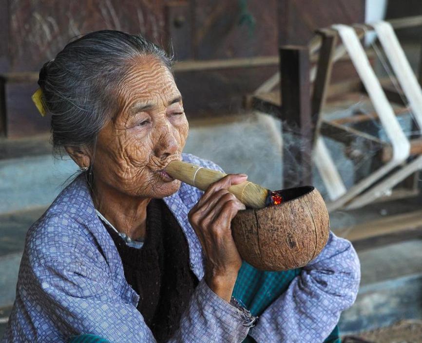 «Il sigaro», Myanmar (Heinz Homatsch)