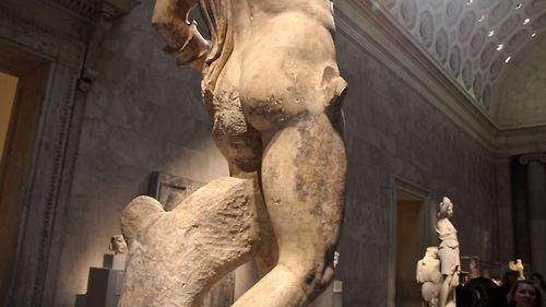 Guerriero ferito, epoca romana imperiale 138.181 d. C.