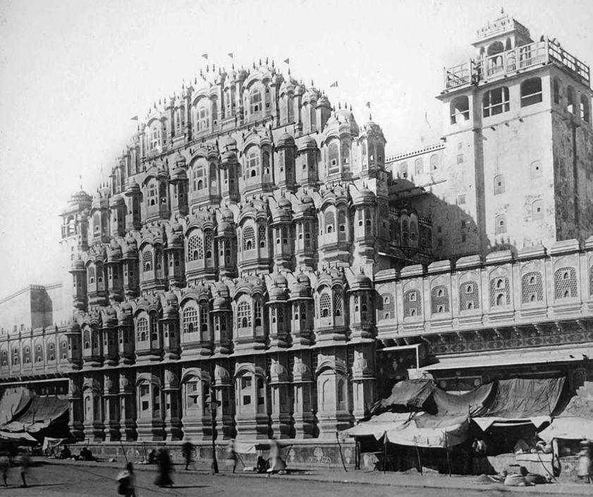 Palazzo dei Venti, collezione ?Bandini?, Jaipur, Rajasthan, India, 1903, foto di anonimo
