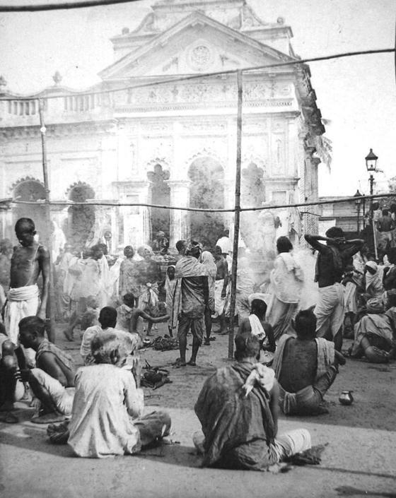 Tempio di Kali, collezione ?Bandini?, Calcutta, Bengala, India, 1903, foto di anonimo
