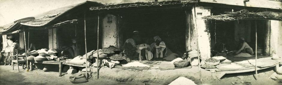 ?Le vie fiancheggiate di buche nere?, collezione ?Piscicelli?, Calcutta, Bengala, India, 1913-1914, foto di Maurizio Piscicelli