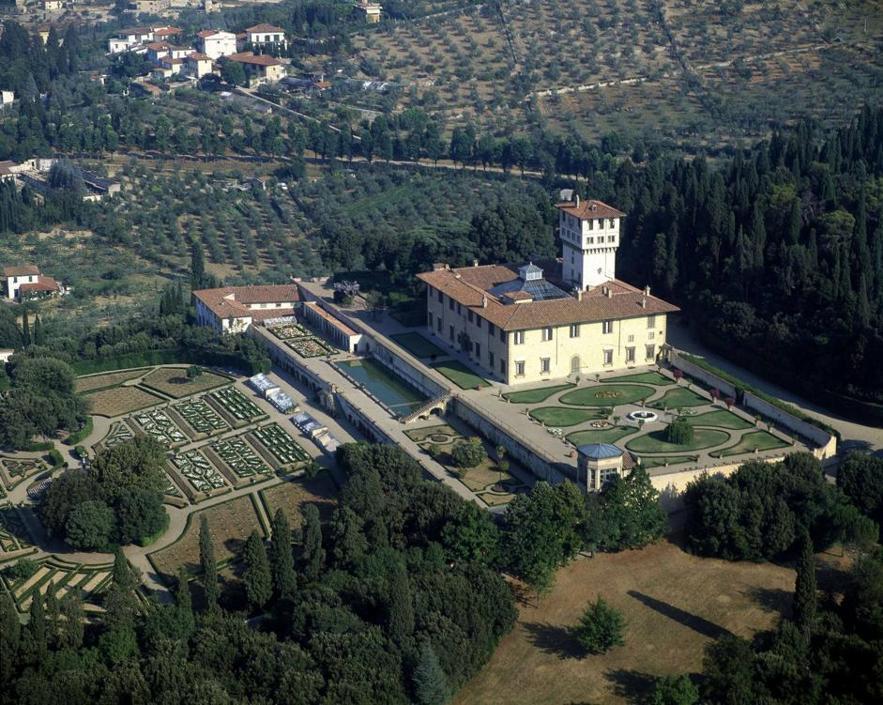 Le ville medicee premiate dall 39 unesco for Villa la petraia