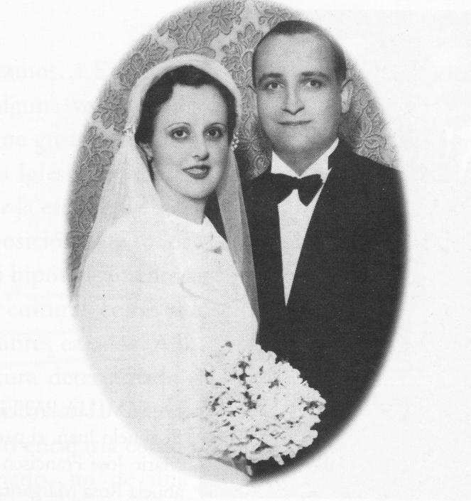 La madre e il padre di Papa Francesco: Regina Maria Sivori e Mario Jose Bergoglio (Ap)