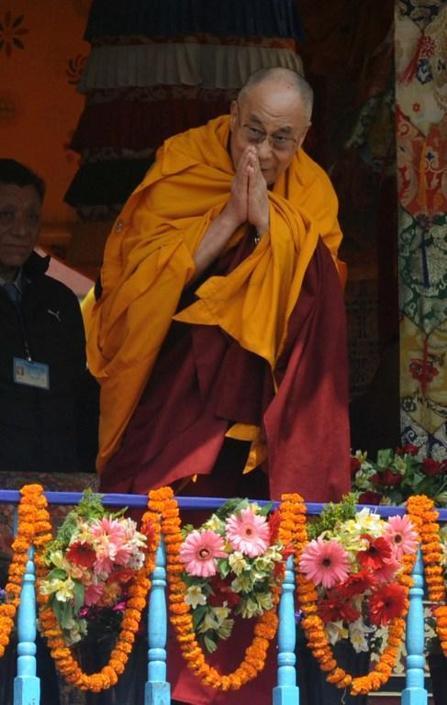 Il Dalai Lama (Afp)