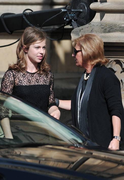 Amanda Thatcher e la zia Carol (Afp/Court)