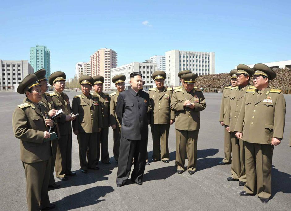 Pyongyang, Corea del Nord (Epa/Sinmun)