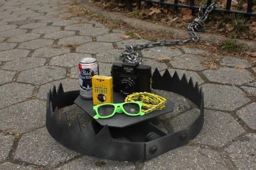 L'istallazione nelle strade di Brooklyn (dal sito urbantraps.com)