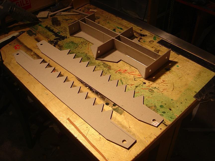 Trappola in costruzione (dal sito urbantraps.com)