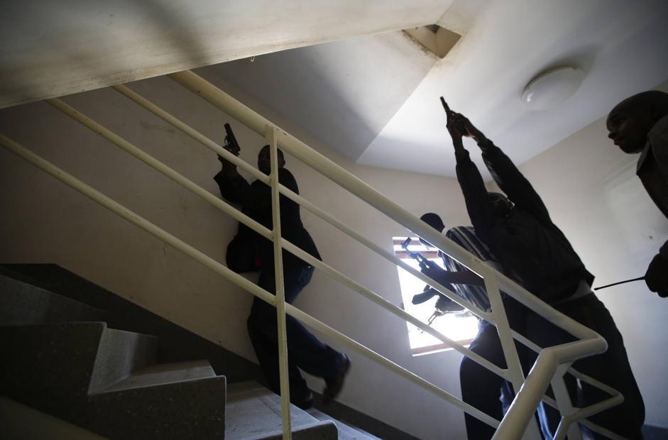 Il raid all'interno dell'impianto (Reuters/Tomasevic)