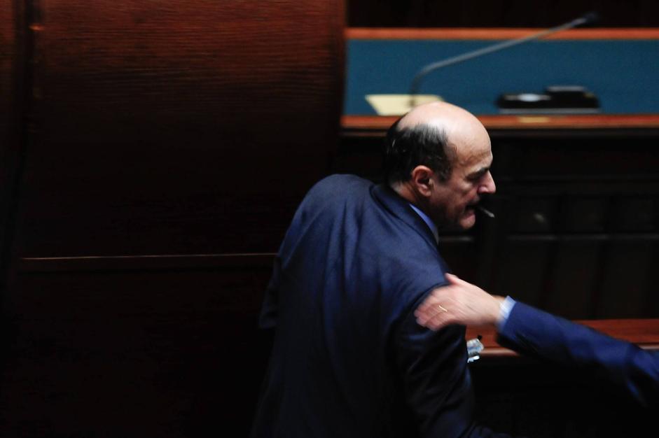 Bersani in Aula (IMAGOECONOMICA/STEFANINI)