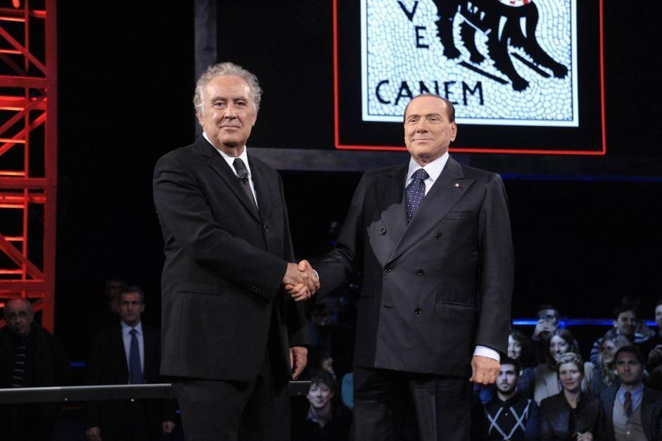 Santoro… quanti assist a Berlusconi!