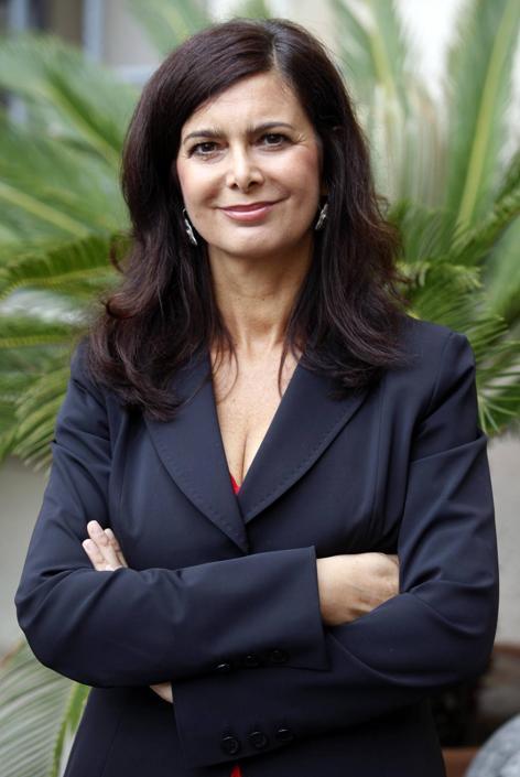 Laura boldrini la nuova presidente della camera for Presidente della camera attuale