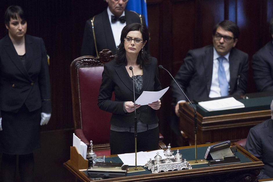 Laura boldrini lapresse hot girls wallpaper for Presidente della camera attuale