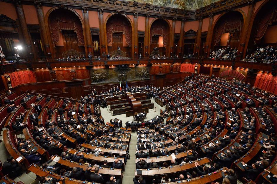 Prima seduta della Camera dei Deputati (Imagoeconomica)