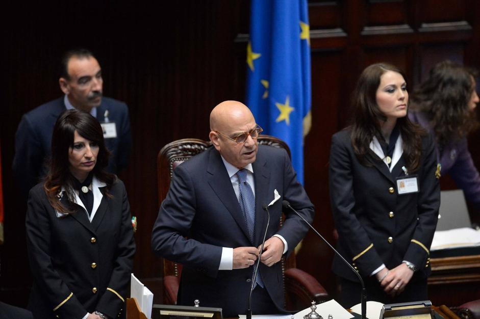 Antonio Leone presiede la prima seduta della XVII legislatura (Imagoeconomica)